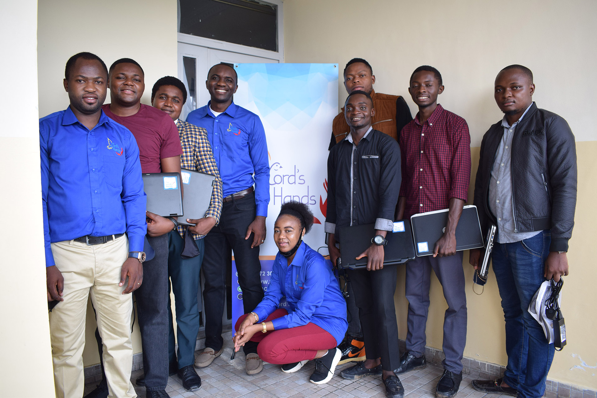 The Lord's Hands Laptop Scholarship Program